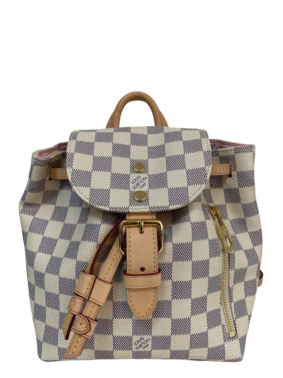 Mochila Louis Vuitton Damier Azur Sperone