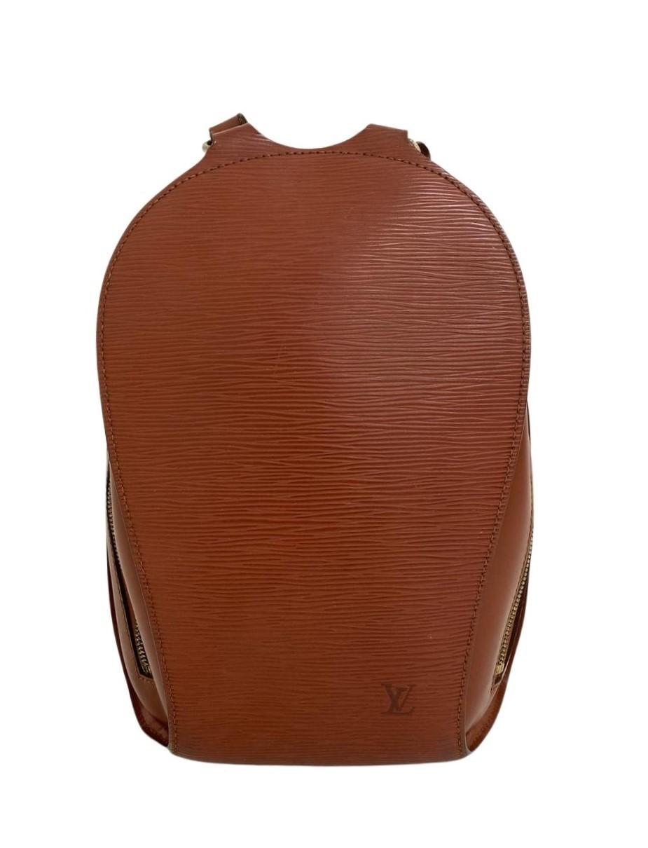 Mochila Louis Vuitton Mabillon Epi Caramelo