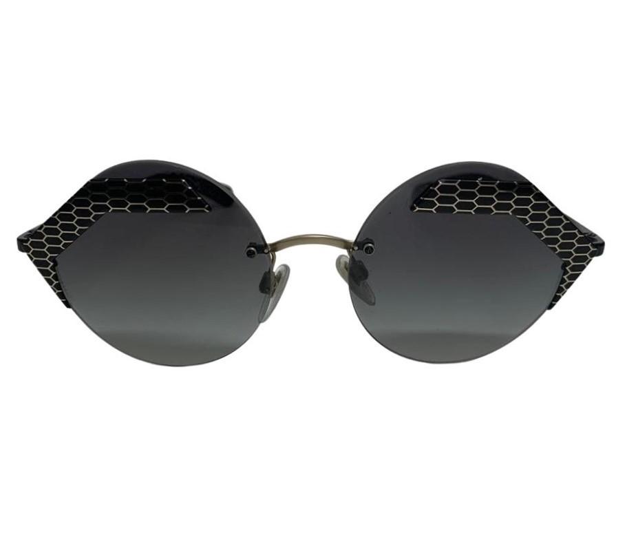 Óculos Bvlgari Serpenti Hexagonal