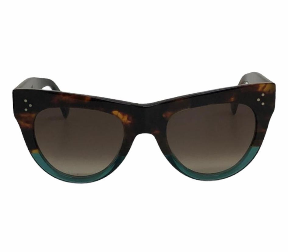 Óculos Céline Acetate Cat Eye Bicolor