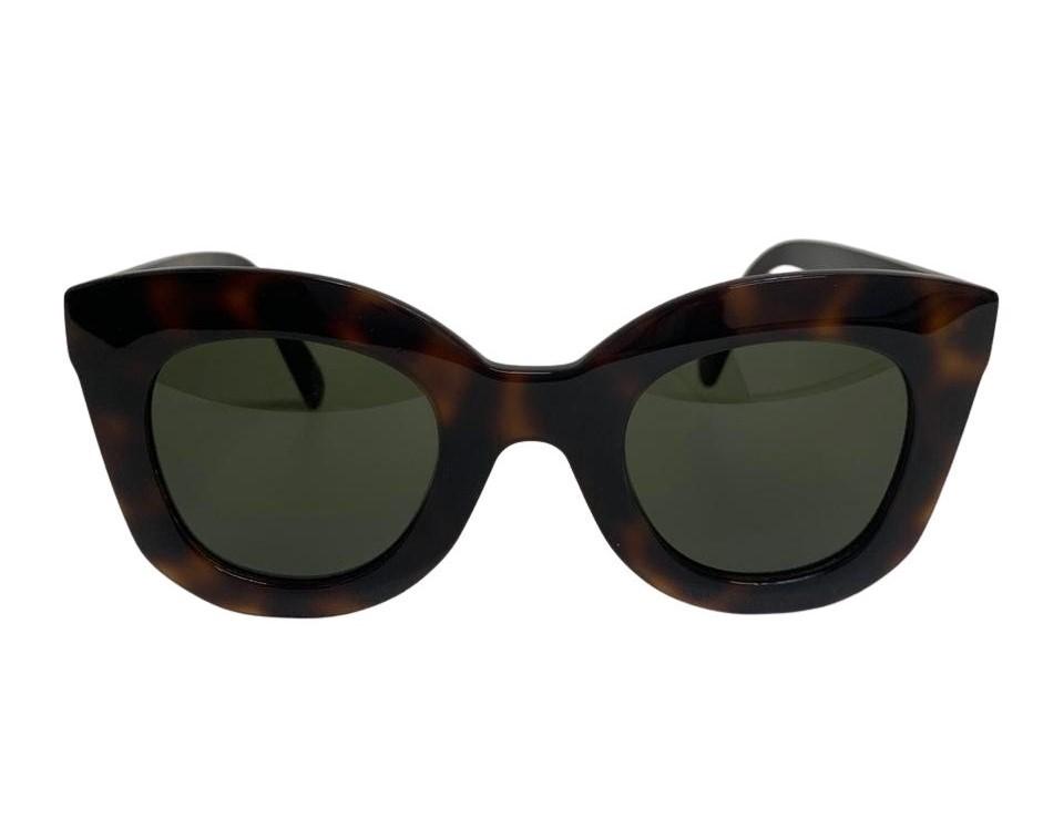 Óculos Céline Animal Print Cat Eye