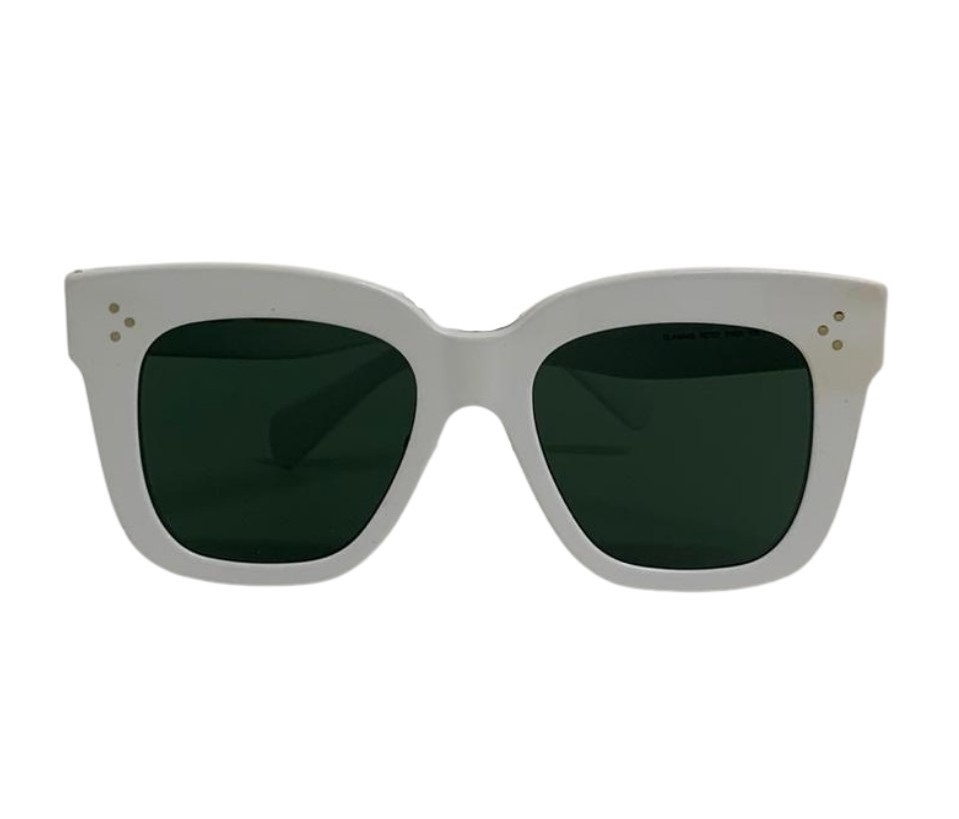 Óculos Céline Wayfarer Branco