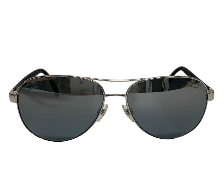 Óculos Chanel Aviator Espelhado