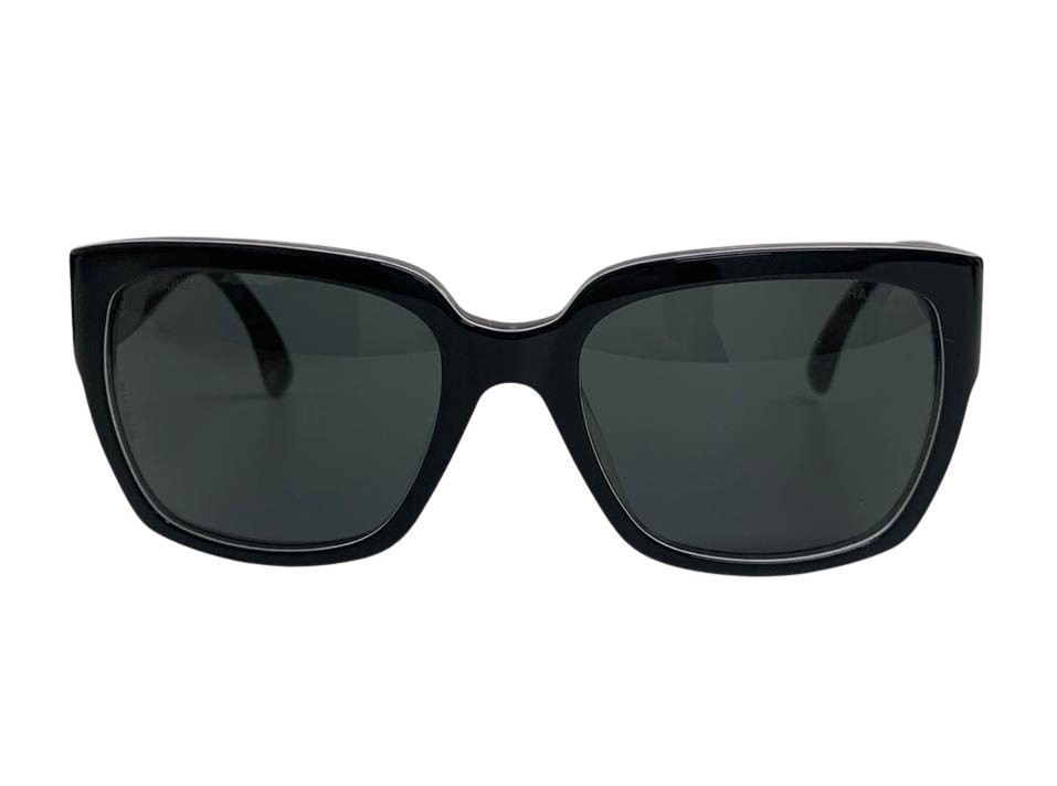 Óculos Chanel Wayfarer Preto