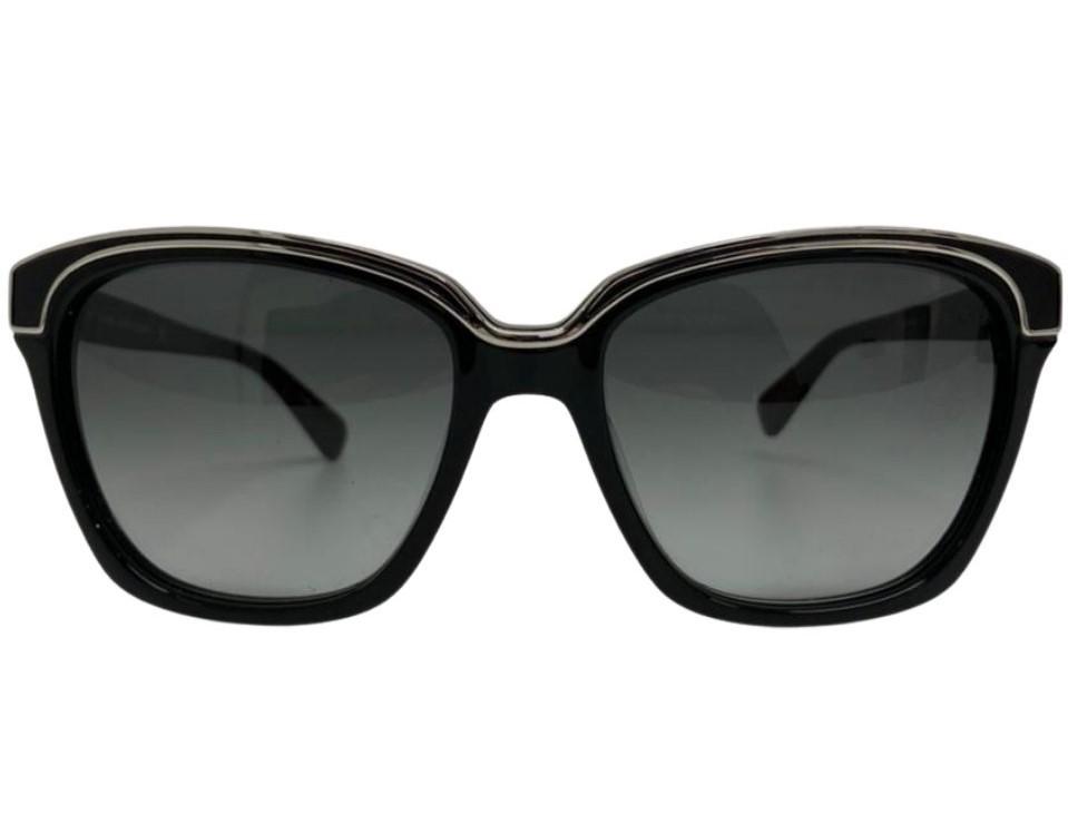 Óculos Diane Von Furstenberg Rectangular Preto
