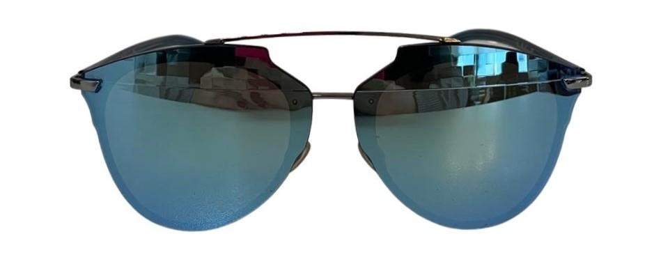 Óculos Dior Azul Espelhado
