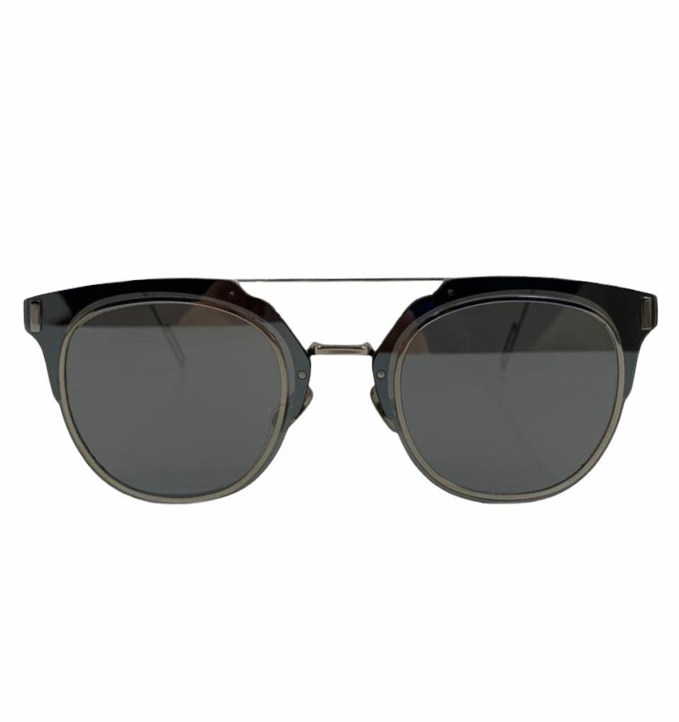 Óculos Dior Espelhado com Prata