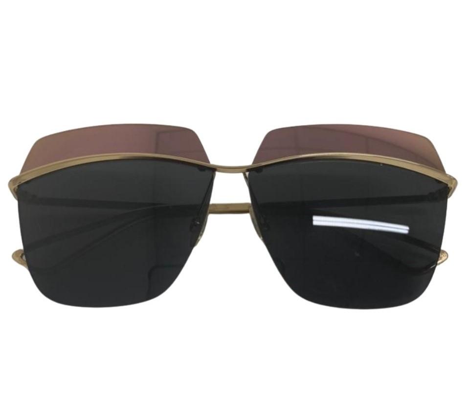 Óculos Dior Metallic Square