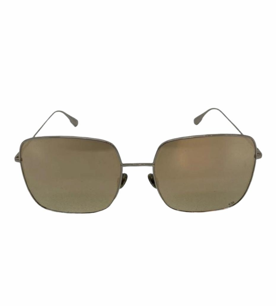 Óculos Dior Stellaire Dourado Square