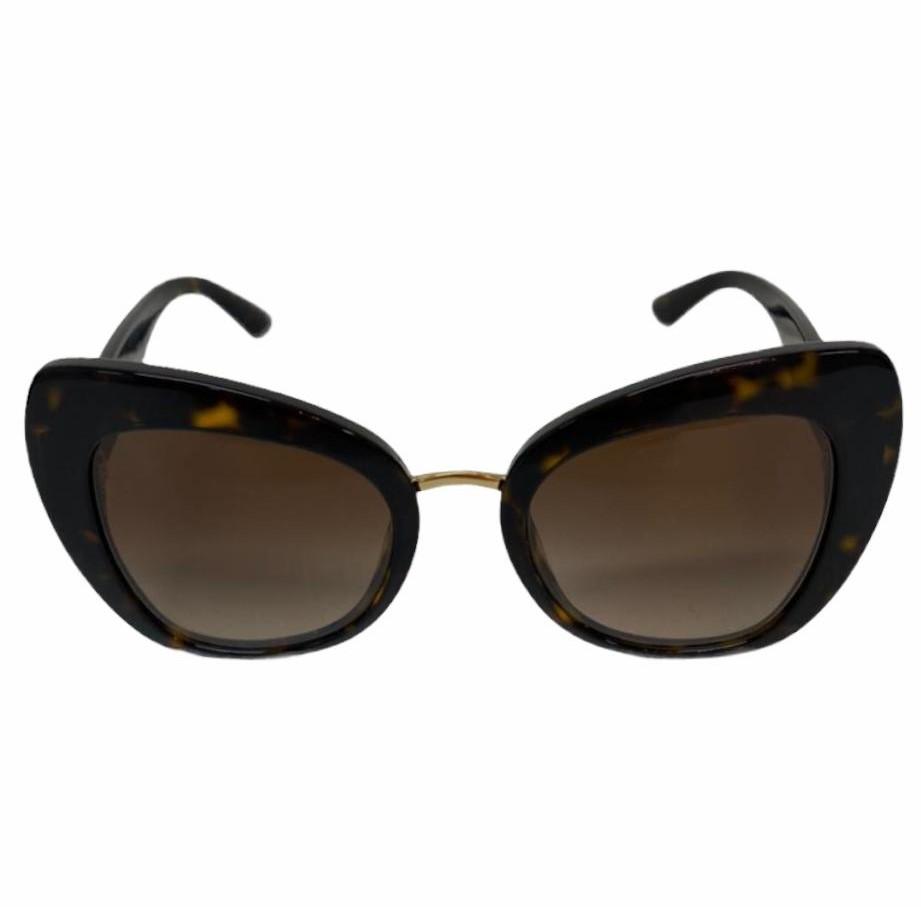 Óculos Dolce & Gabbana Cat Eye Tartaruga