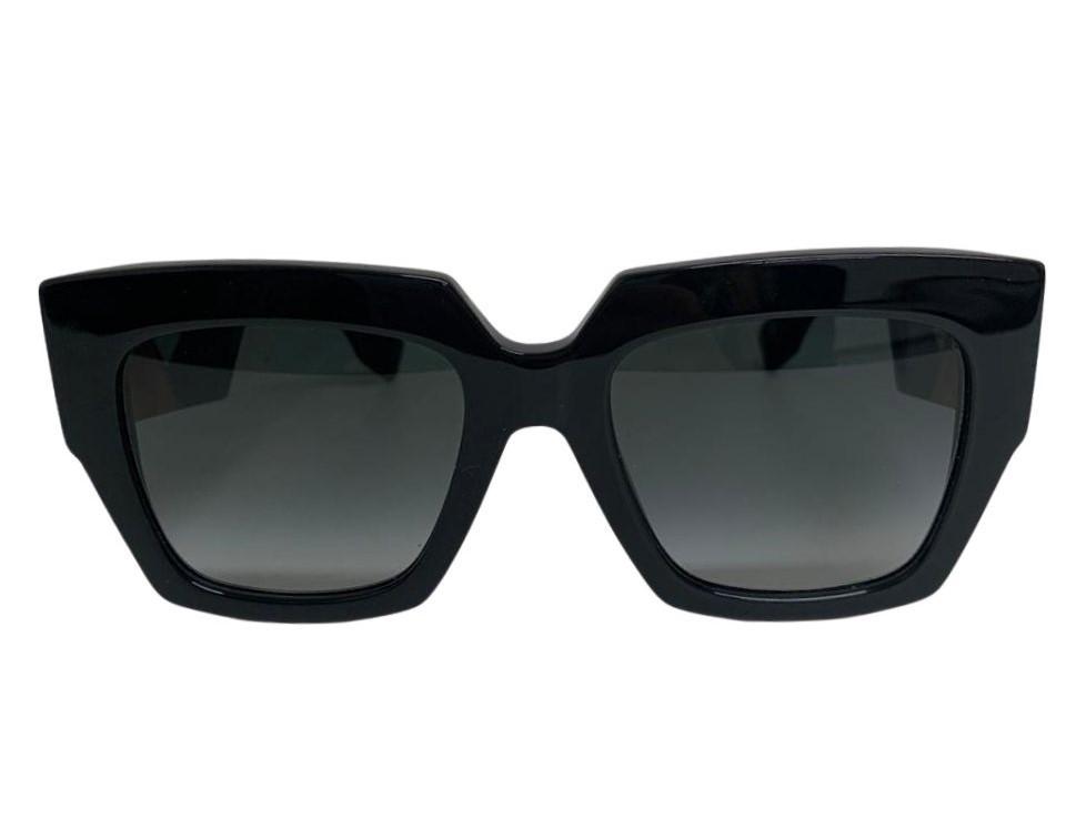 Óculos Fendi Wayfarer Preto