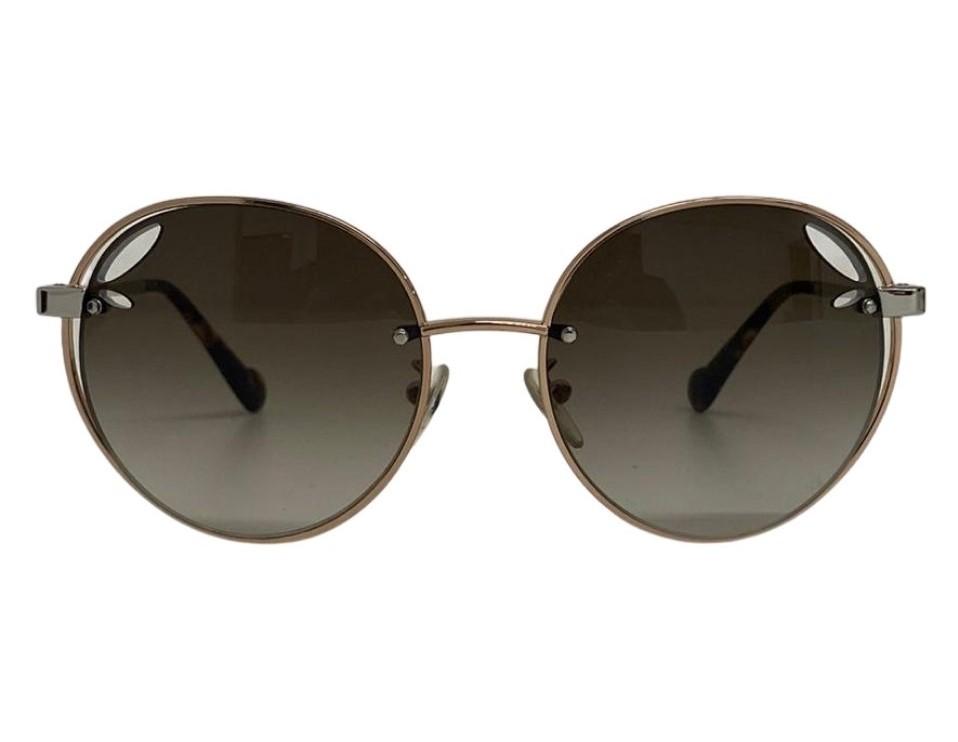 Óculos Louis Vuitton Redondo Metallic