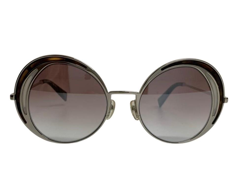 Óculos Marc Jacobs Redondo Metallic