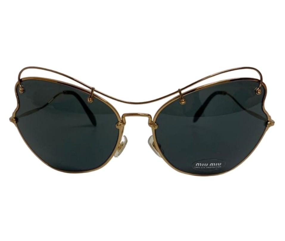 Óculos Miu Miu Metallic