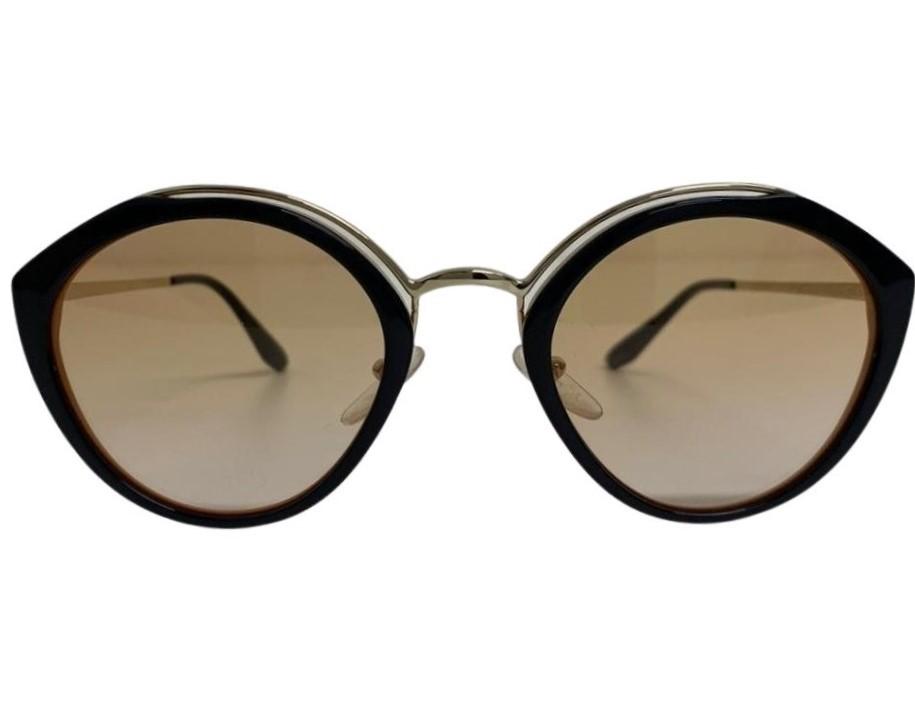 Óculos Prada Redondo Metallic