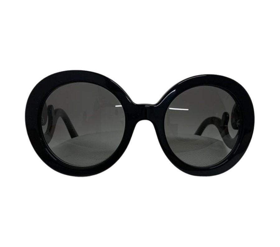 Óculos Prada Redondo Preto