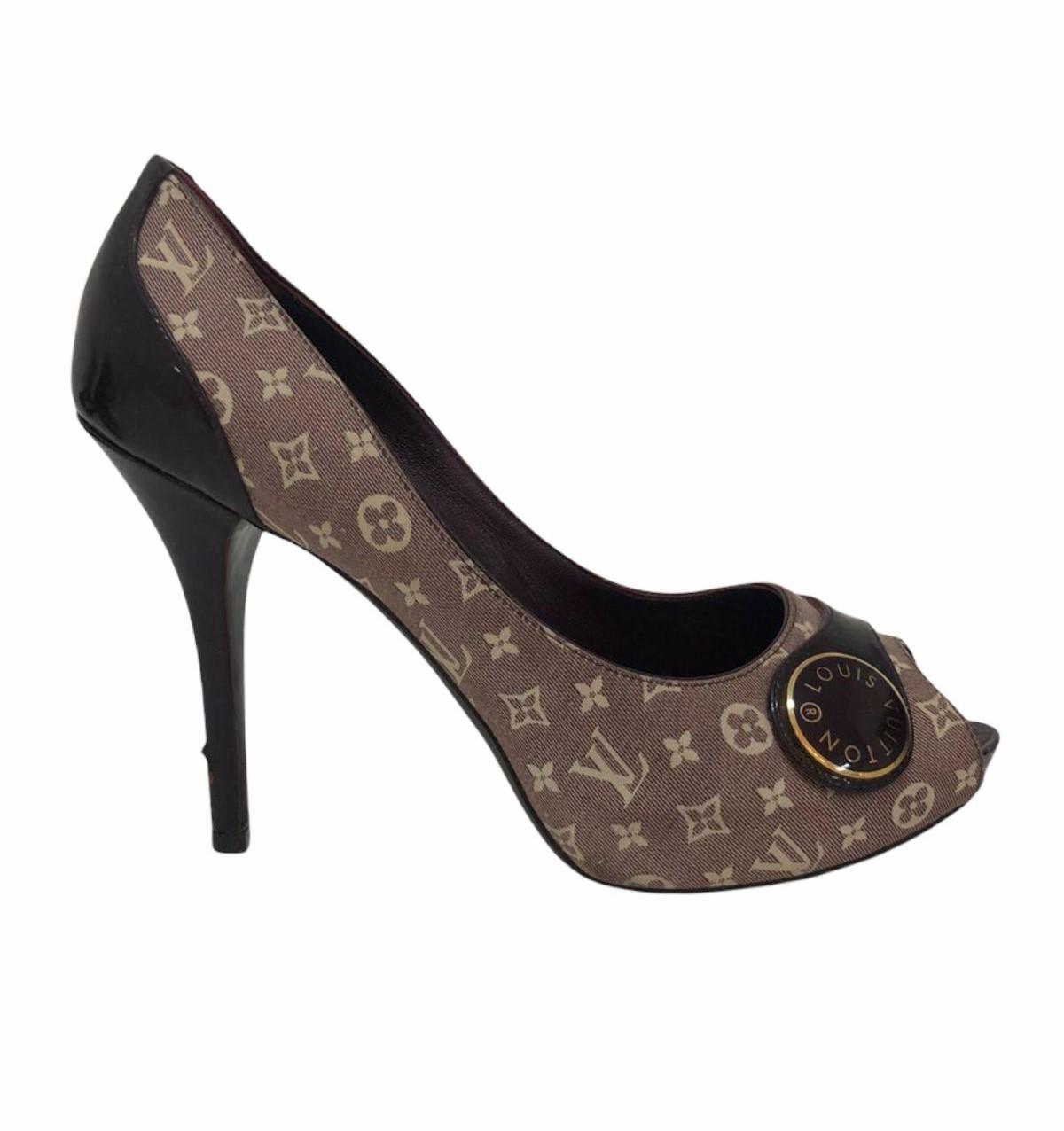 Peep Toe Louis Vuitton Judy Open