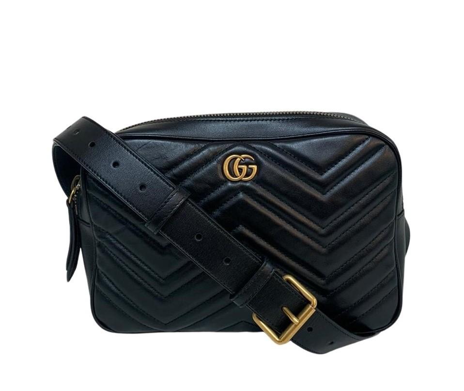 Pochete Gucci Marmont Preta