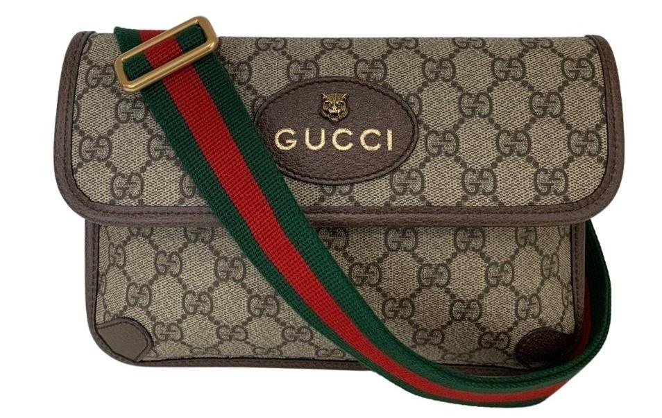 Pochete Gucci Neo Vintage GG Supreme
