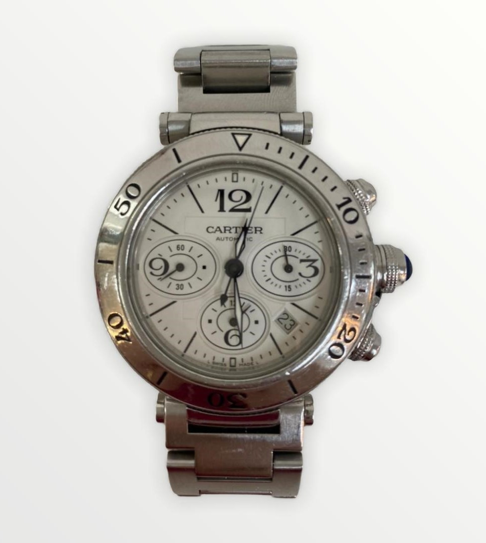 Relógio Cartier Pasha Seatimer Automatic