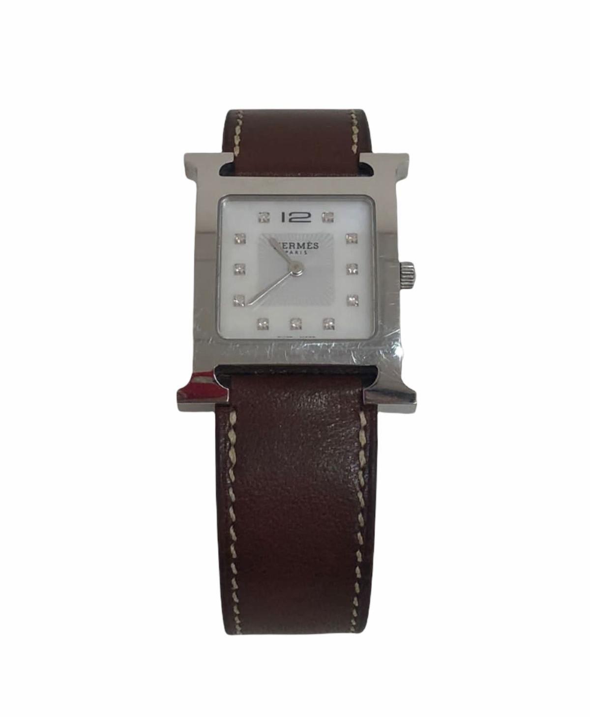 Relógio Hermès Heure H Strap Double Tour Leather