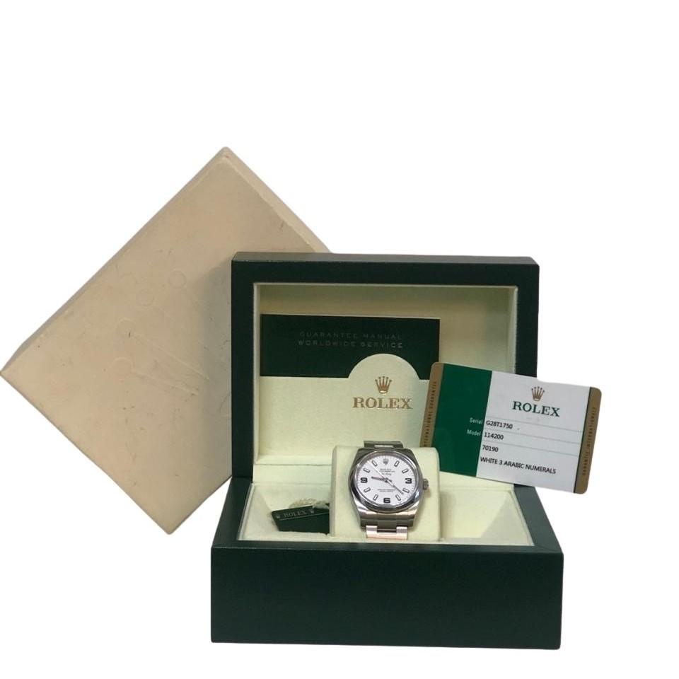 Relógio Rolex Air King Modelo 114200