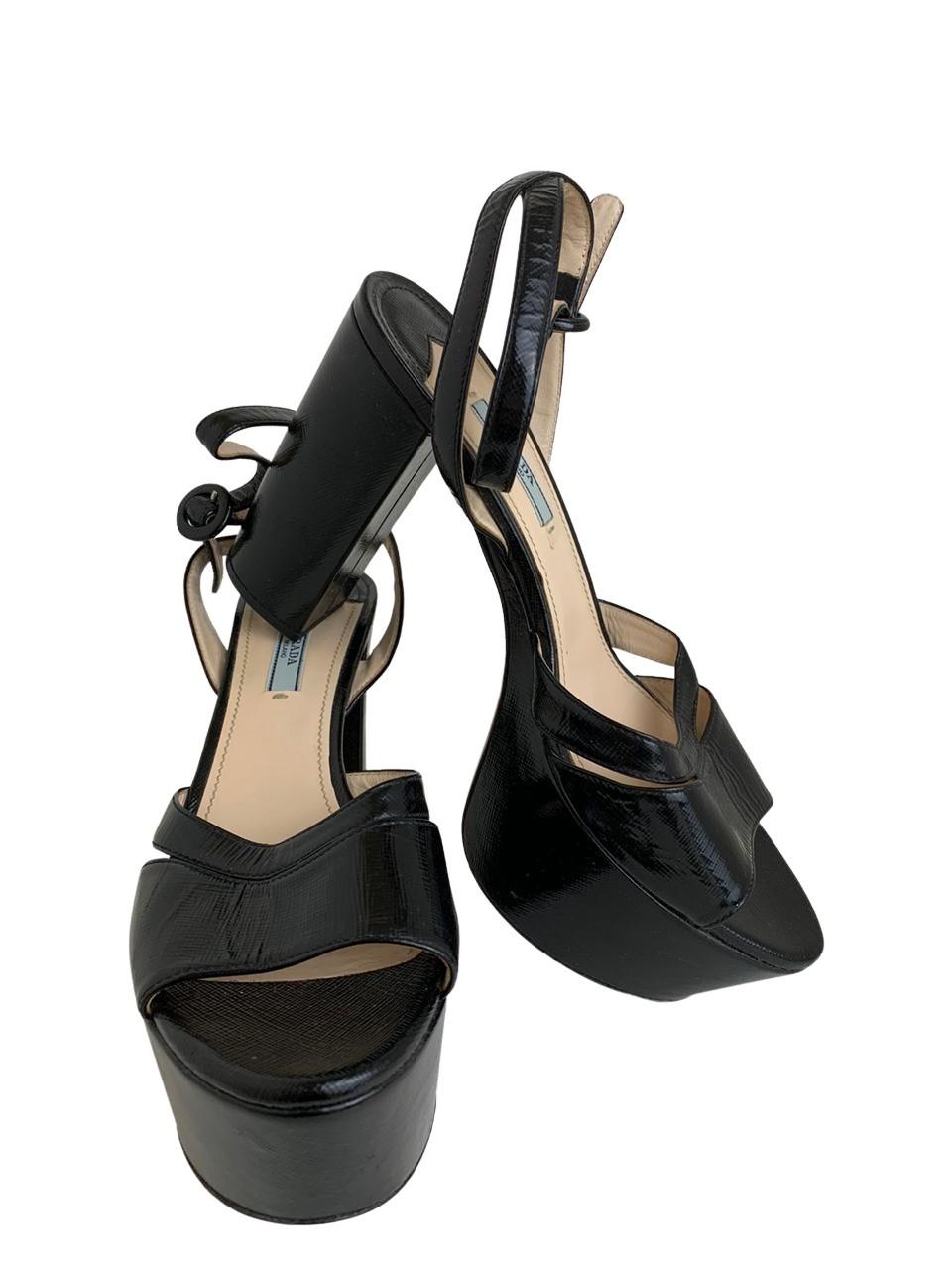 Sandália Prada Preta