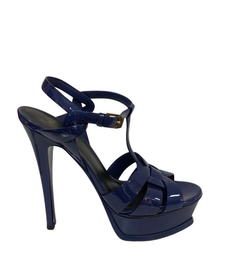 Sandália Yves Saint Laurent Azul