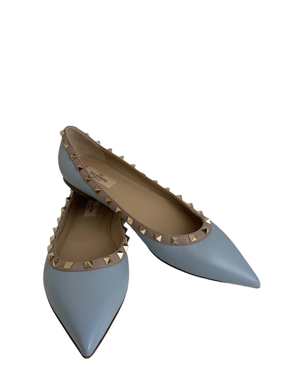 Sapatilha Valentino Rockstud Azul