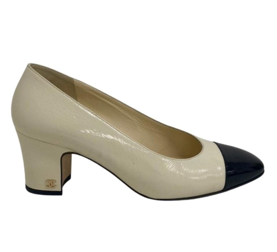 Sapato Chanel Bicolor