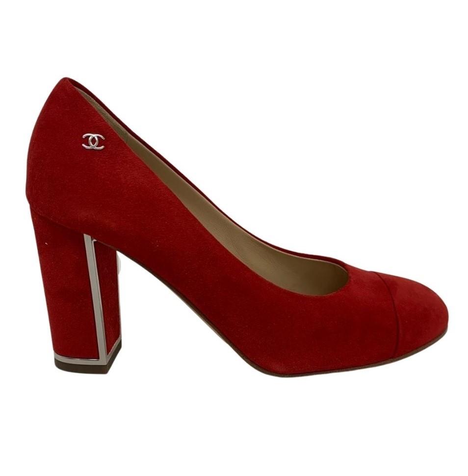 Sapato Chanel Vermelho