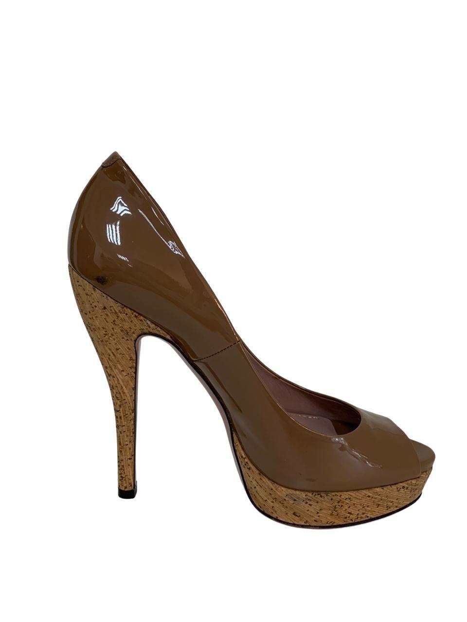 Sapato Gucci Caramelo
