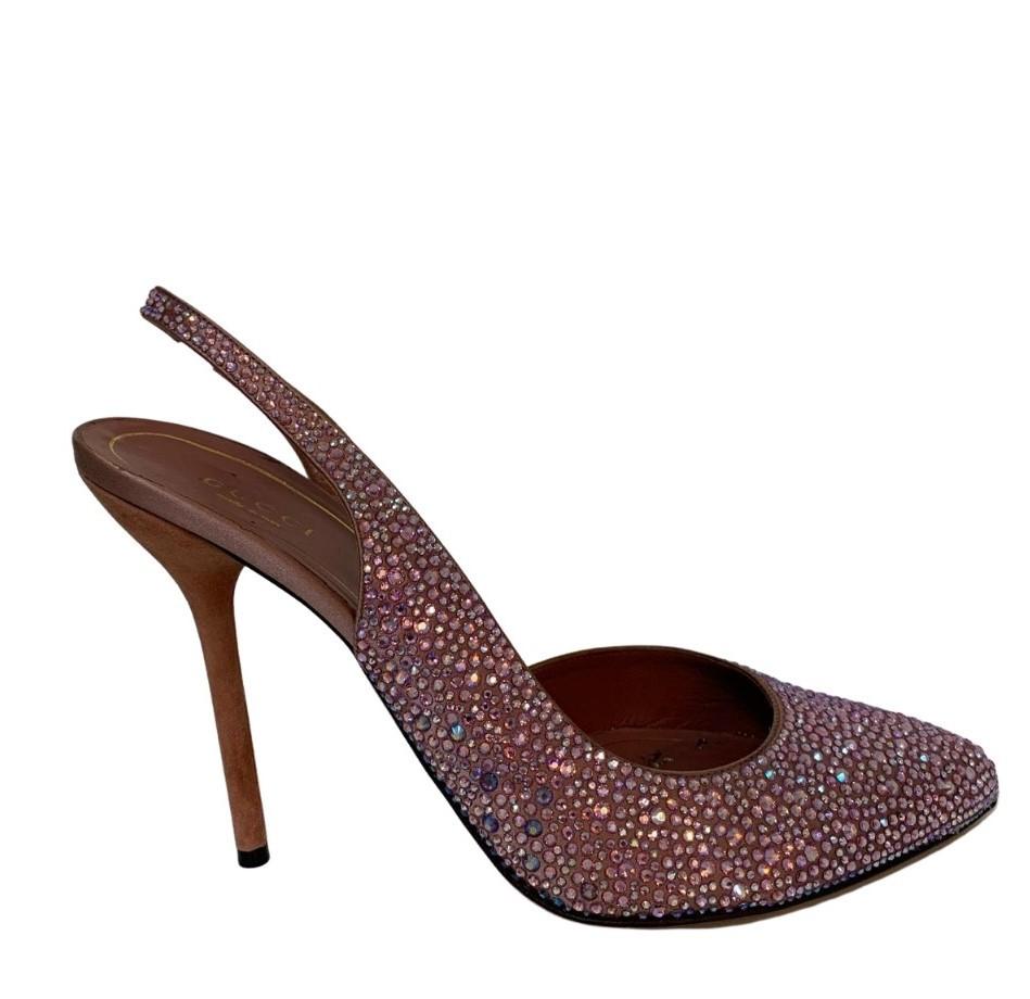 Sapato Gucci Noah Crystal