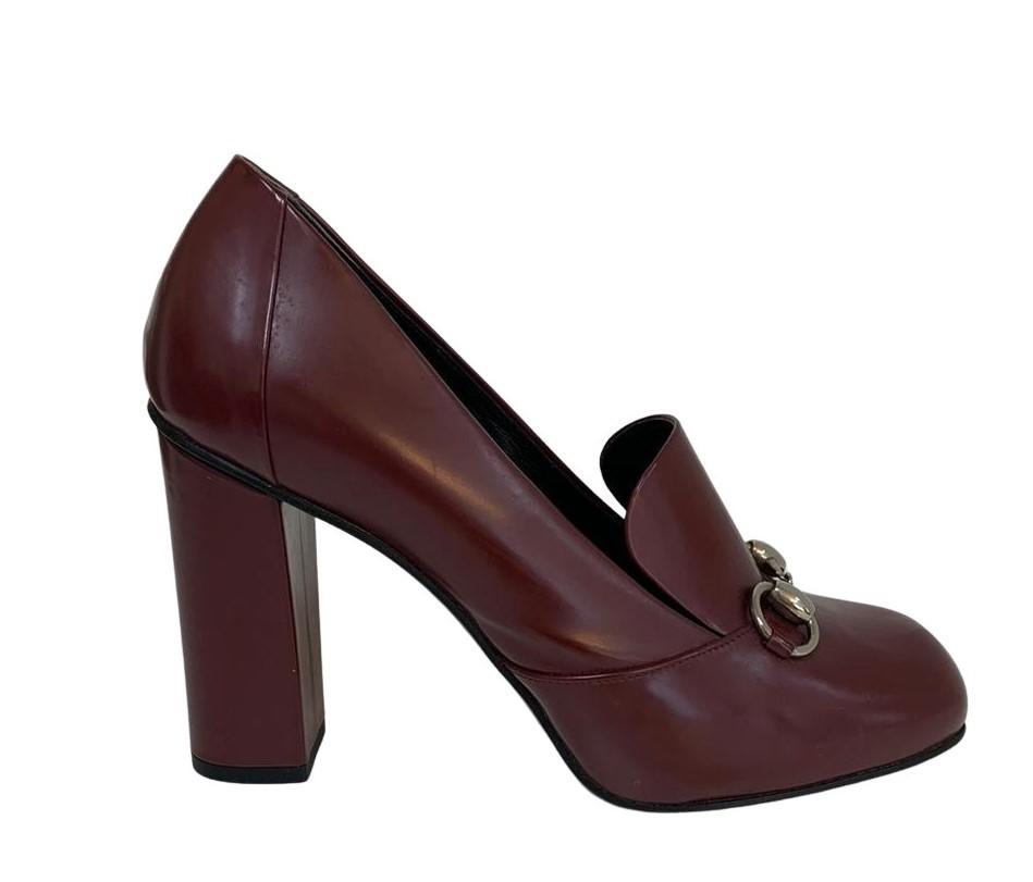 Sapato Gucci Vinho