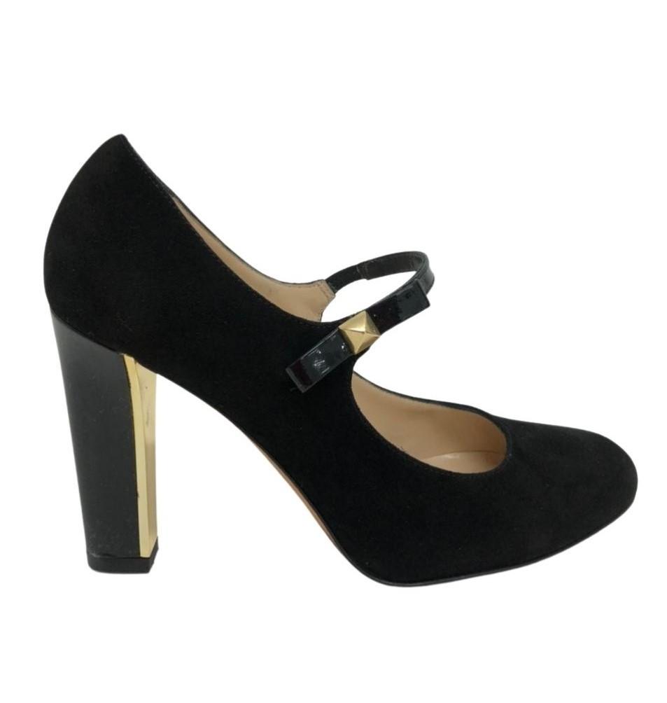 Sapato Kate Spade Velvet Preto