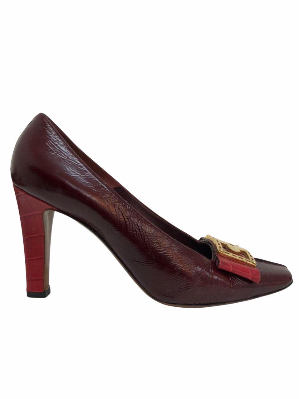 Sapato Louis Vuitton Vinho