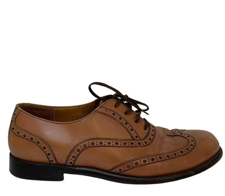 Sapato Salvatore Ferragamo Social Caramelo