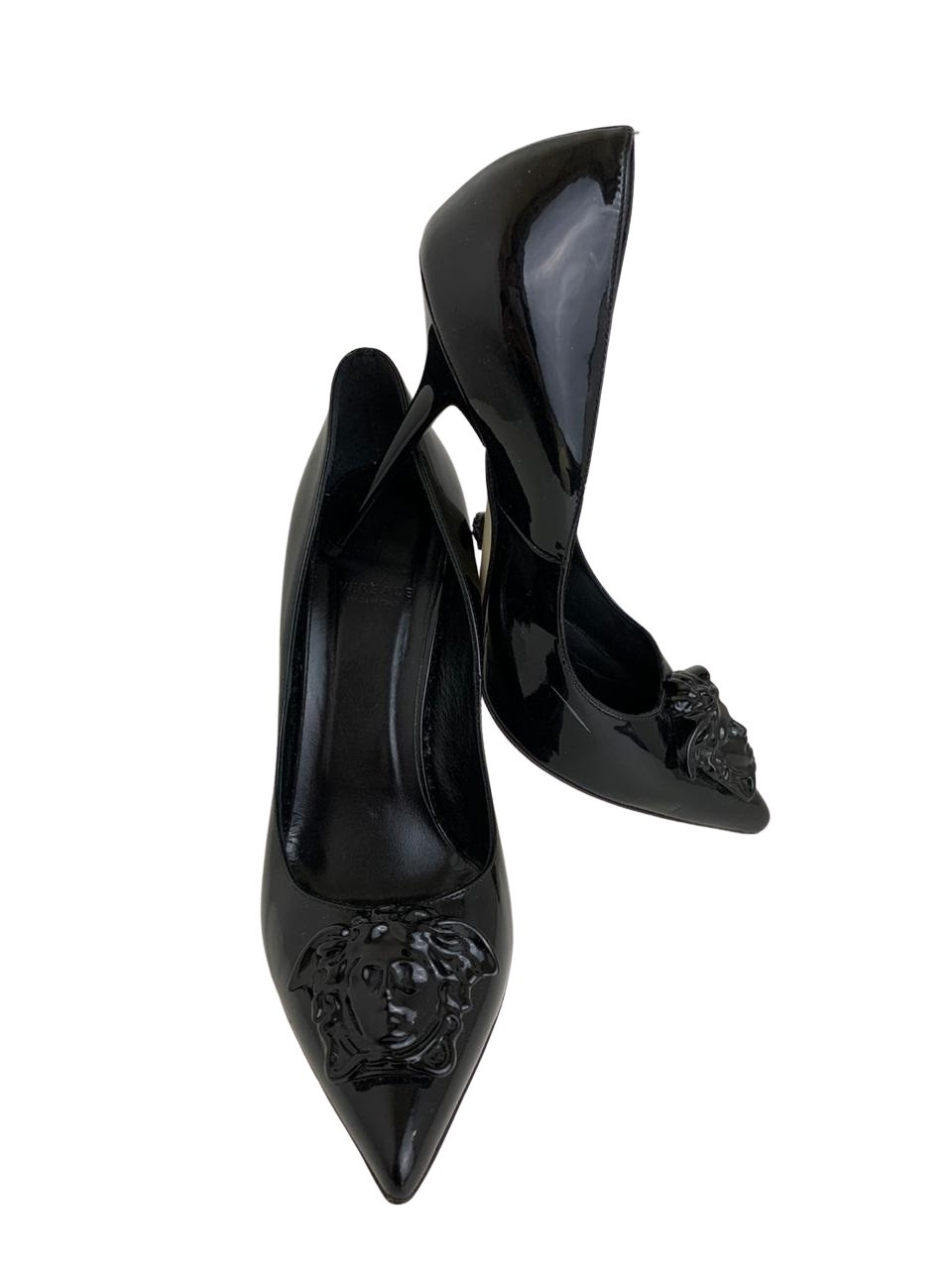 Scarpin Versace Preto