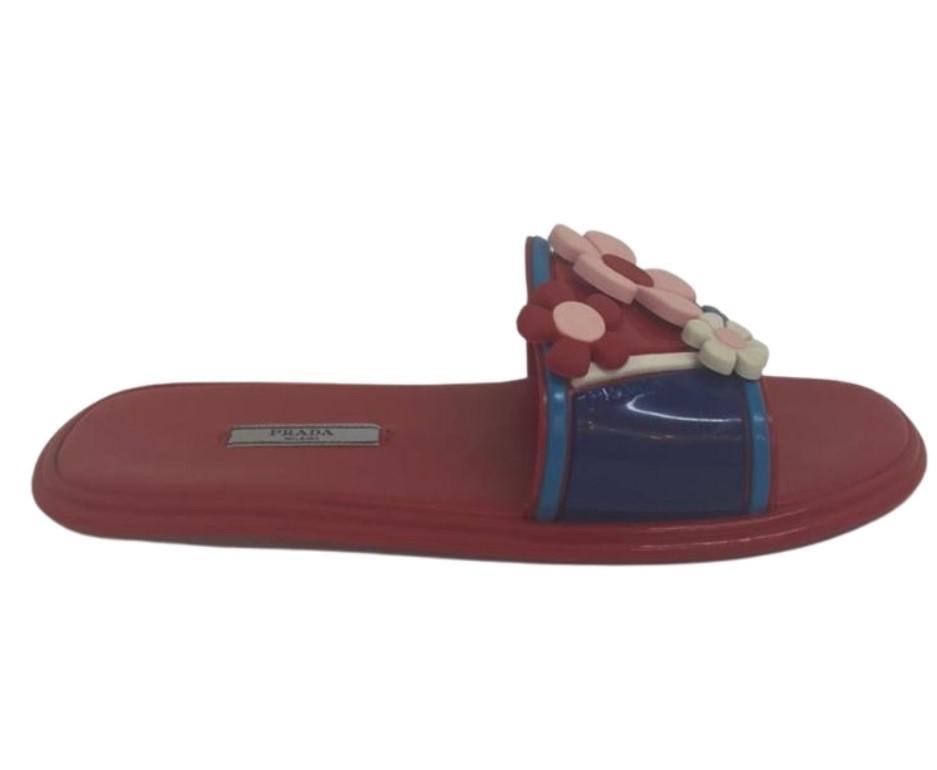 Slide Prada Vermelho