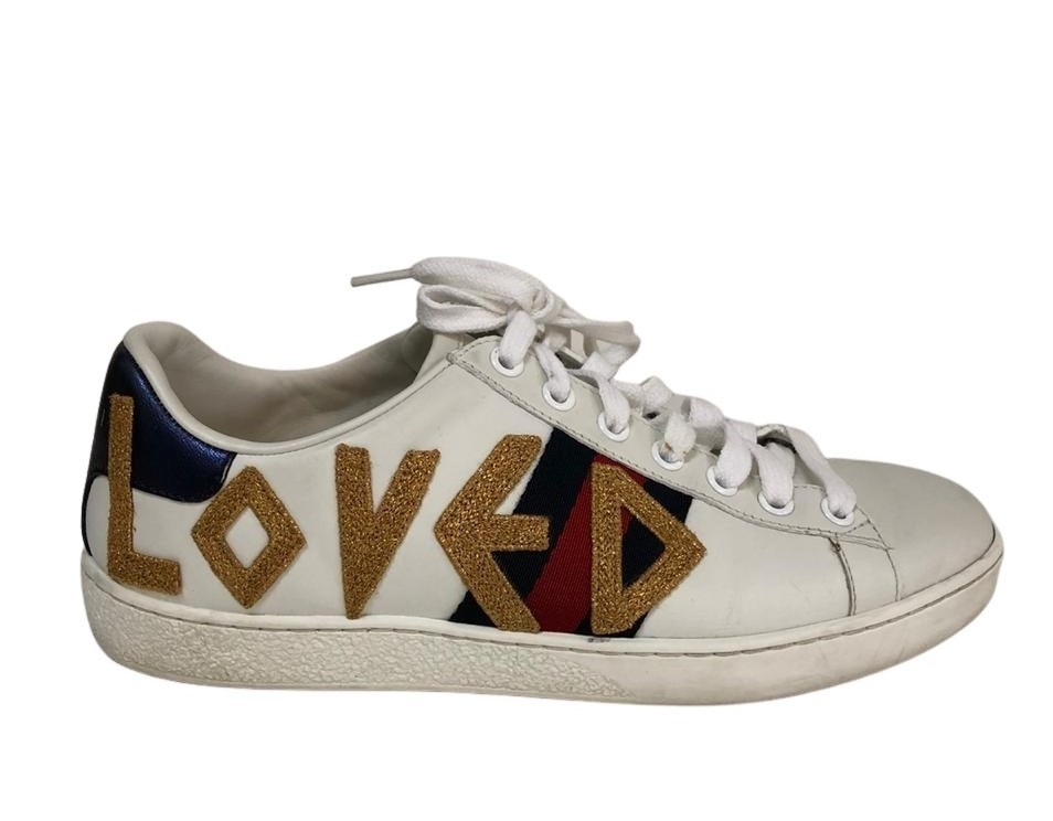 Tênis Gucci Ace Embroidered Sneaker