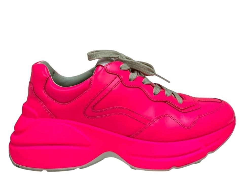 Tênis Gucci Neon Pink