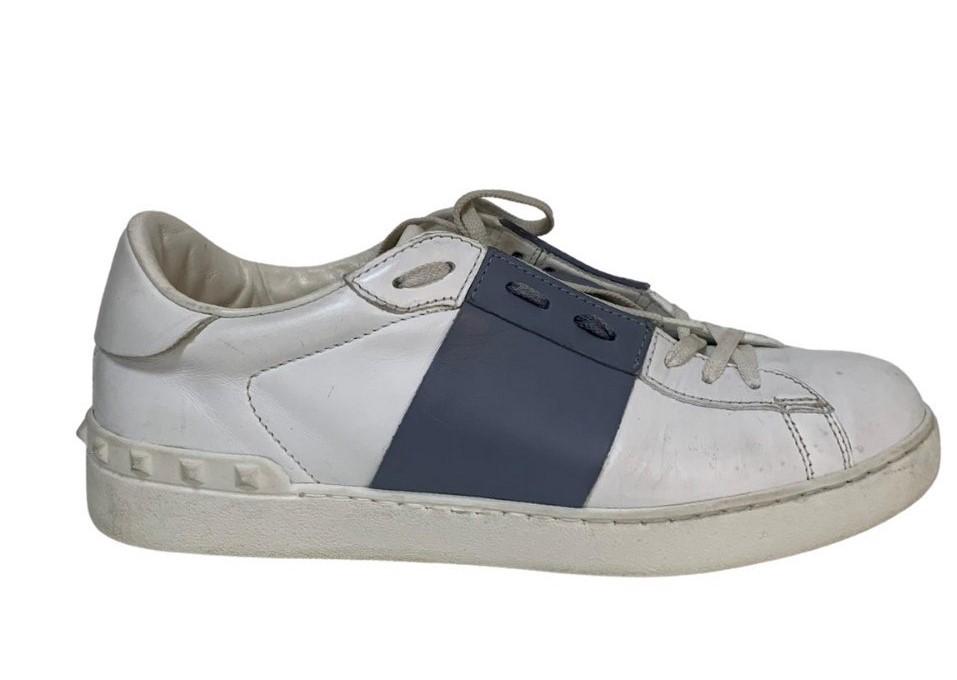Tênis Valentino Branco com Azul