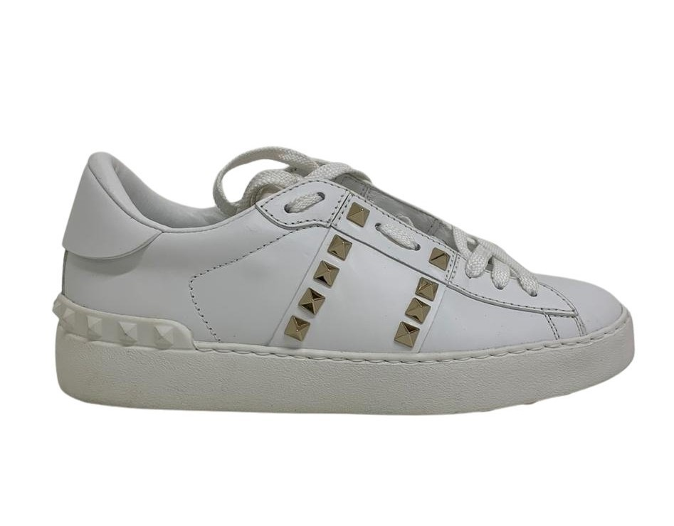 Tênis Valentino Branco Spikes