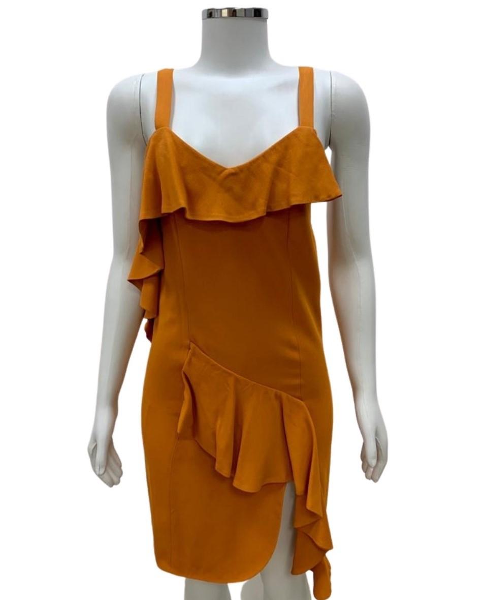 Vestido Cris Barros Laranja
