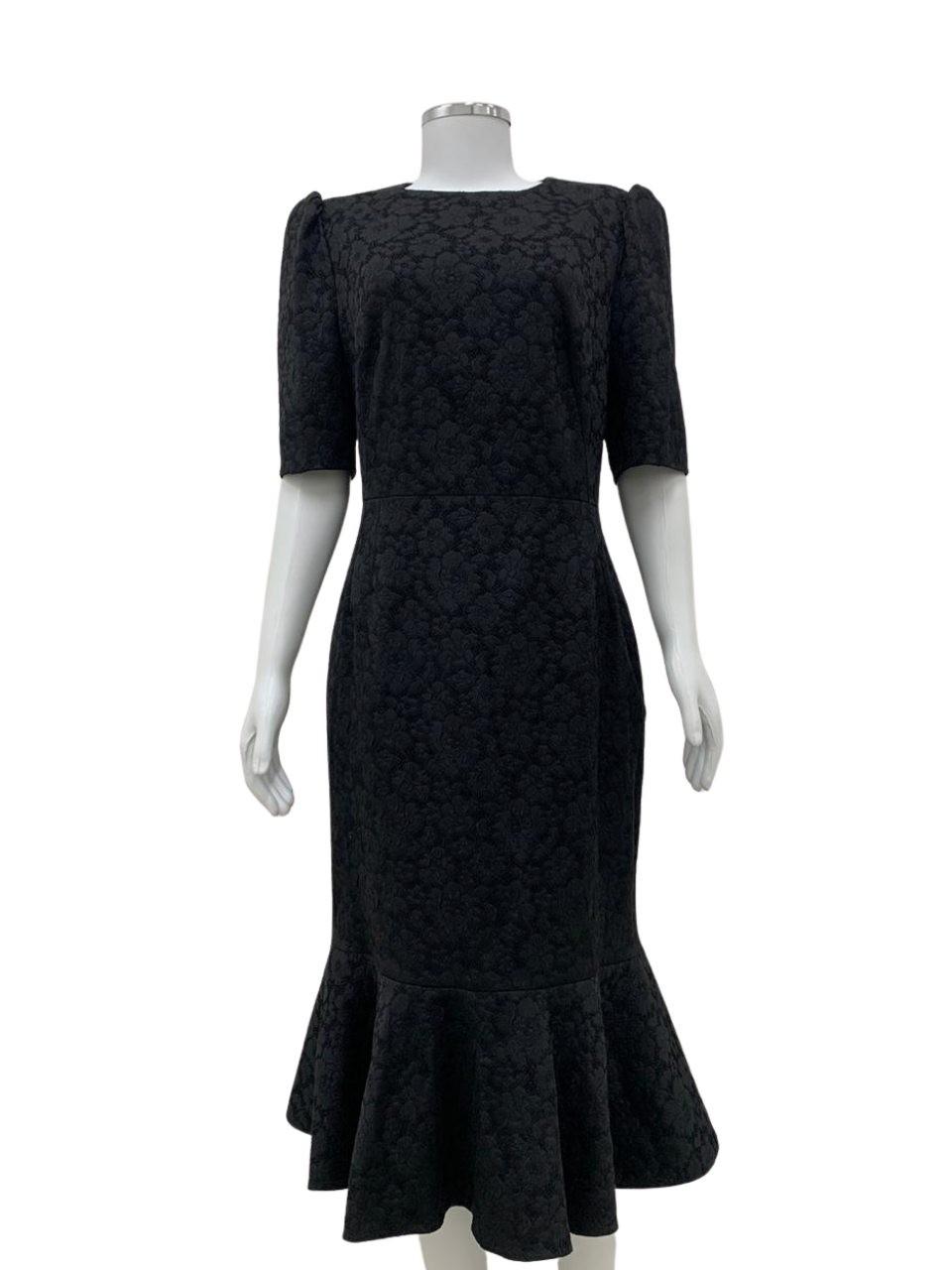 Vestido Dolce & Gabbana Com Renda Preto