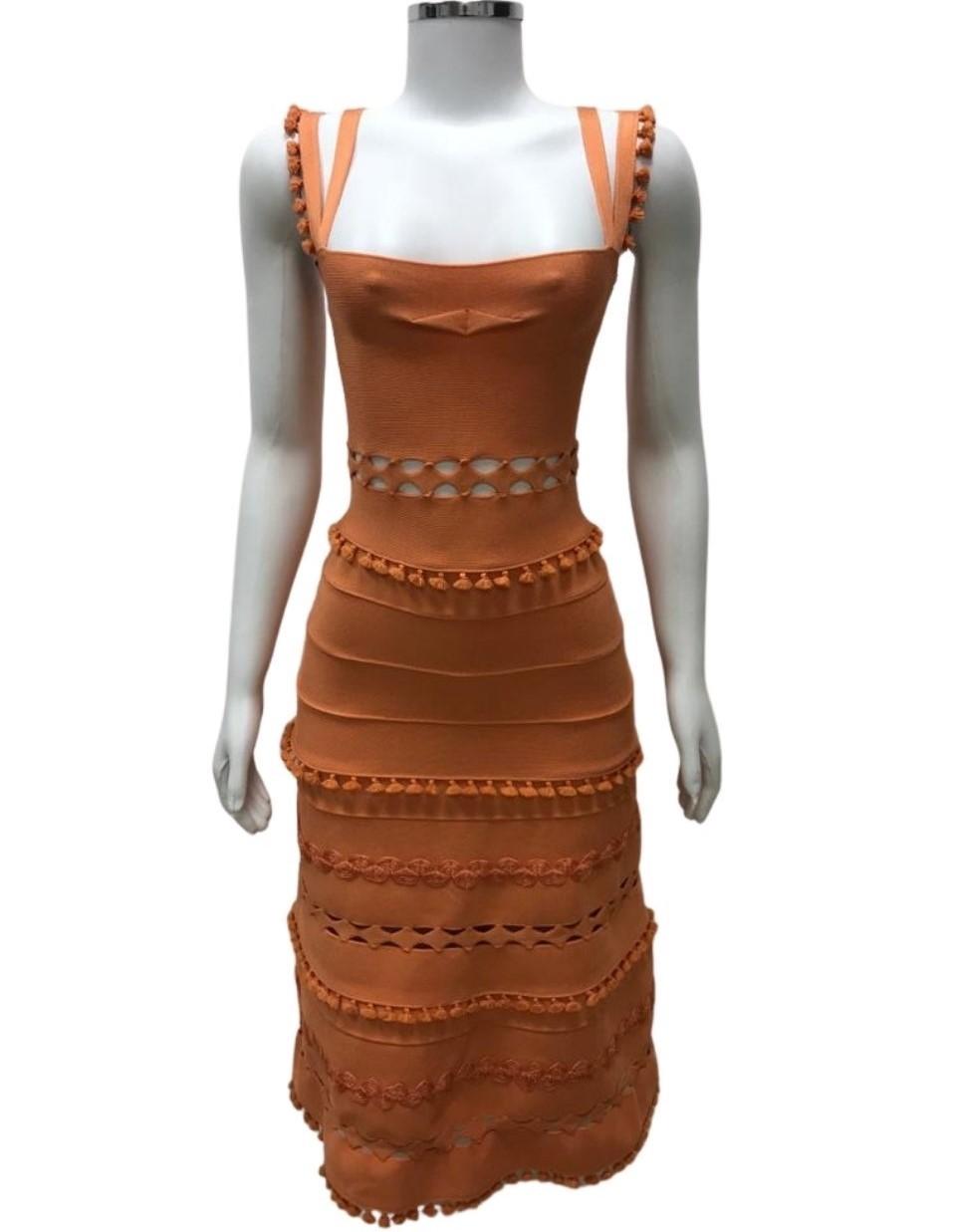 Vestido Lolitta Laranja