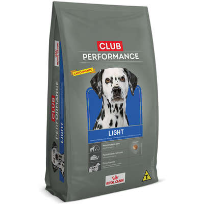 RAÇÃO ROYAL CANIN CÃES ADULTO CLUB PERFORMANCE LIGHT 2,5 a 15kg