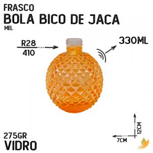 FRASCO BOLA BICO DE JACA R28 MEL 330ML