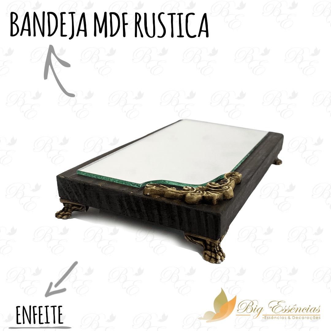 BANDEJA MDF RUSTICA