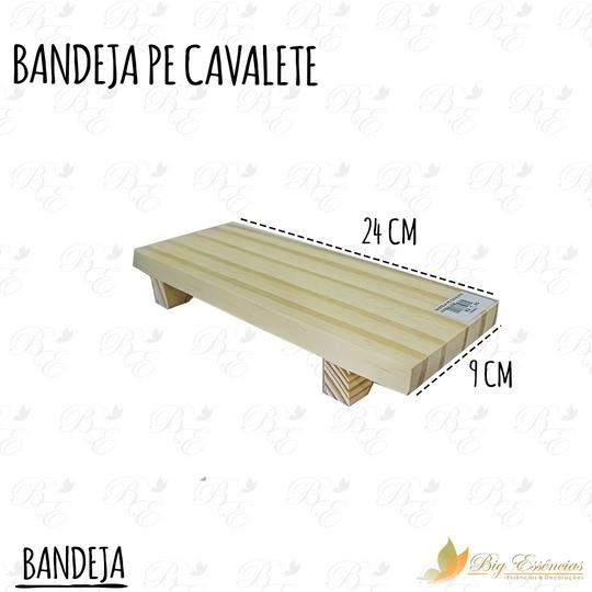 BANDEJA PE CAVALETE 24X9X4 5CM